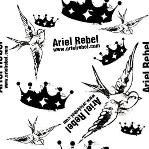 Photoshop Freebies – Ariel Rebel Pattern #1