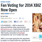 Fan Voting for the XBIZ awards are open!